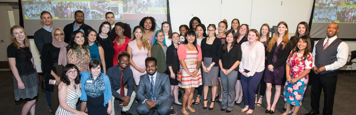 Public Allies Class 12 group photo at Presentations on Impact