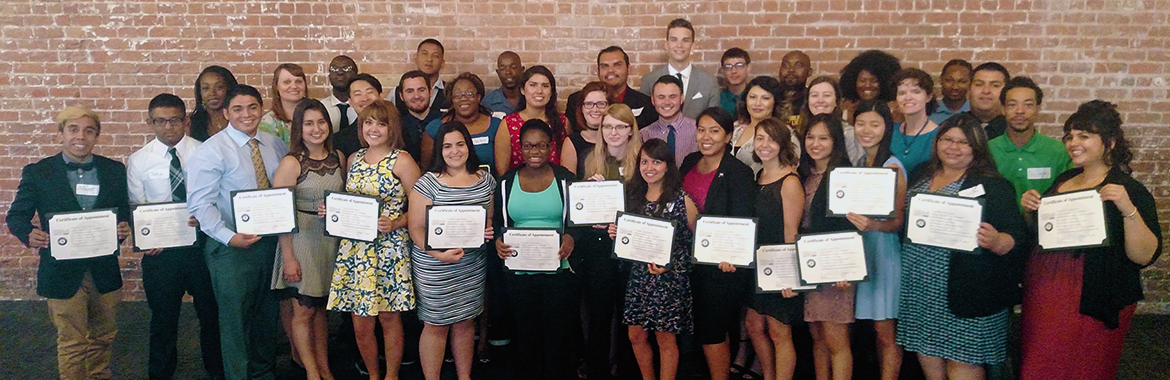 group picture of Public Allies graduates