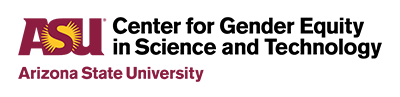 ASU Center for Gender Equity in Science and Technology logo
