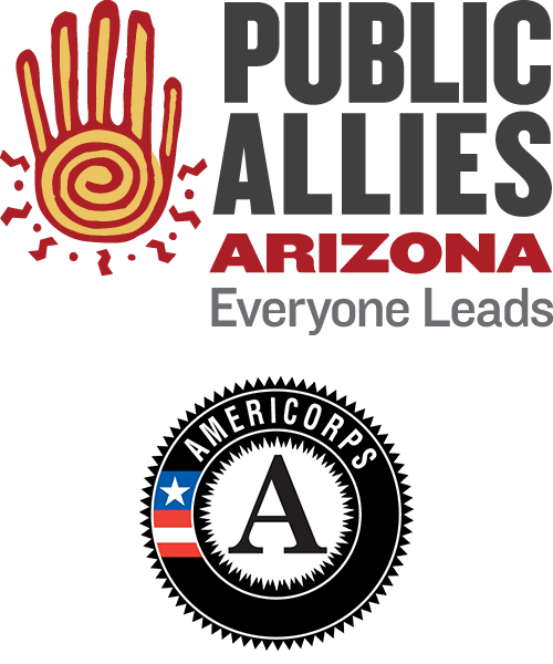 Public Allies Arizona and AmeriCorps logos